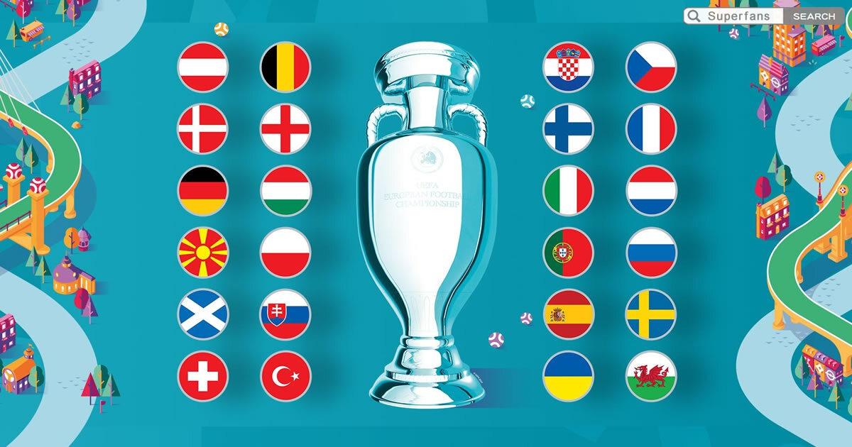 歐洲國家杯波衫
