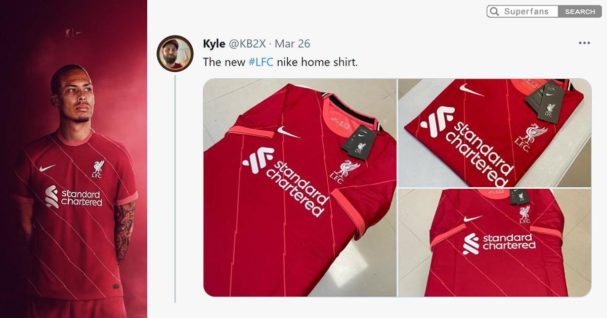利物浦球衣